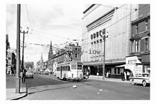 pt9057 - Blackpool Tram no 224 by Odeon Cinema in 1963 - photograph