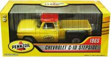Greenlight 1:18 1965 Chevrolet C-10 Stepside Pickup Truck PENNZOIL Diecast 12873