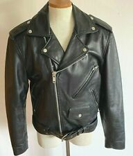 New listing Vintage Leather Jacket Small Thermal Thinsulate Wilson Cowhide Motorcycle Biker