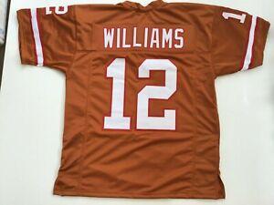 UNSIGNED CUSTOM Sewn Stitched Doug Williams Orange ERROR Jersey - M, L, XL, 2XL