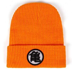Cap Dragon Ball Z Kame Logo Orange Adult Beanie Hat