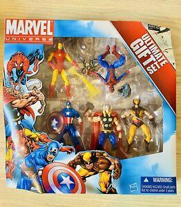 """MARVEL UNIVERSE ULTIMATE GIFT 5-PACK BOX SET SPIDER-MAN WOLVERINE 3.75"""" Figures"""