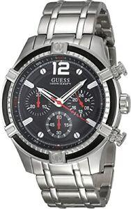 Men's Guess Chronograph Bracelet Watch W0968G1