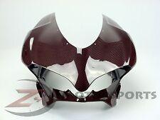 Ducati 959 1299 Upper Front Nose Headlight Panel Cowl Fairing Carbon Fiber Red