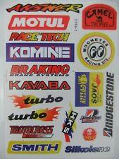New 19 Sticker Kit Motocross Decals Cr Crf Xr Xlr Ec Mtx Crf450 Graphics Enduro