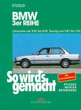 BMW 3ER E30 1982-1990 TOURING 1987-1994 REPARATURANLEITUNG SO WIRDS GEMACHT 58