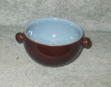 DENBY HOMESTEAD BROWN LUGGED SOUP BOWL
