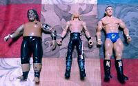 WWE  Lot of 3 Wrestling Action Figures