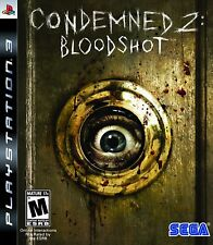 CONDEMNED 2 BLOODSHOT PS3 - LN - Game Disc Only
