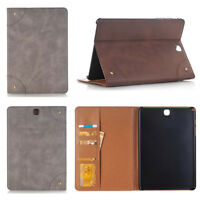 Luxury Leather Wallet Card Flip Case Cover For Samsung Galaxy Tab A 3 4 S S2 S3