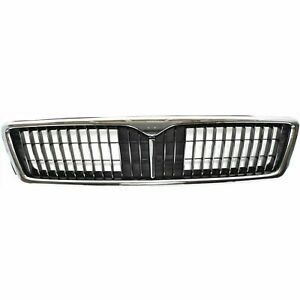 FITS FOR INFINITI I30 1996 1997 1998 1999 GRILLE CHROME / BLACK