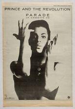 PRINCE 1986 original POSTER ADVERT PARADE