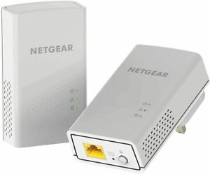 NETGEAR PL1000-100UKS PL1000 Ethernet Port -2 Pcs Internet Booster