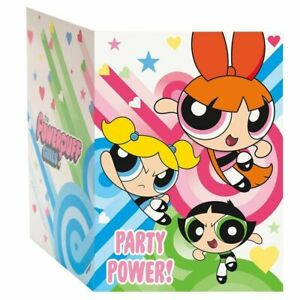 Power Puff Girls Pack of 8 Invitations - Party Power!