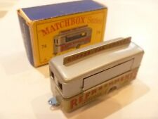 VINTAGE MOKO LESNEY MATCHBOX BOXED 74 REFRESHMENTS KIOSK