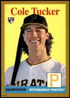 Cole Tucker 2019 Topps Archives 5x7 Gold #93 RC /10 Pirates