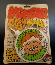 Vintage Imagineering 1975 Monster Makeup Lab Mummy Kit MOC Halloween Monster Toy