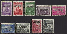 SERBIA( German Occupation) :1943 'Bombing of Nish'Fund  set SG G87-95  fine used