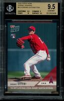 2018 Topps Now #ST-4 Shohei Ohtani RC BGS 9.5 Gem Mint Rookie Spring Training