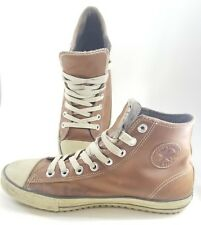 d099cff177d4 Converse Chuck Taylor All Star Men s Size 12 Leather Pine Cone Brown Mid  Boot