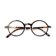 Nerd Brille filigran rund Glasses Klarglas Hornbrille treber 68R74 TGS findhoon