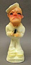"J.Y. Jenkins 1947 ""SO WHAT"" SAILOR carnival chalk chalkware statue figure *"