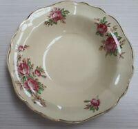 Vintage J&G Meakin Pink Roses Pattern Bowl c1912-39 Made in England 16cm