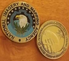 RARE LOT OF 2: National Geospatial Intelligence Agency & National Imagery & Map