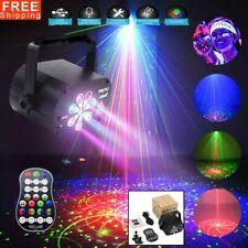 120 Muster 8 Lens LED Bühnenbeleuchtung RGB Laser Disco Party Licht DJ Projektor