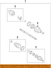 GM OEM Front Drive-CV Shaft Axle Assy 25844557