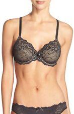 NWOT Chantelle 3281 Rive Gauche Underwire Bra, Black, Size 40DDD - $88