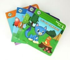 4 Leap Frog Early Learning Board Books 1-4 Pattern, Narrative, Concept, Rhyming