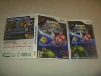 "(Case, Manual & Artwork Only) (NO GAME) Nintendo Wii ""Super Mario Galaxy"""