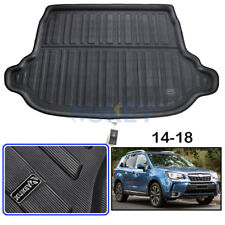 Rear Trunk Cover Cargo Liner Trunk Tray Floor Mat For Subaru Forester 2014-2018