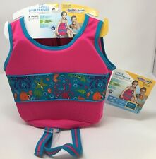 Swim Schools 2-Piece Girls Swim Trainer With Sea Creatures 33-55 Lbs
