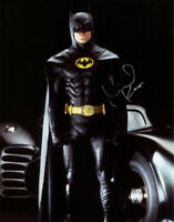 MICHAEL KEATON SIGNED 11x14 PHOTO SIT DOWN SIGNATURE BATMAN & ROBIN BECKETT BAS