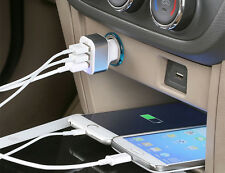 3 Port USB Car Charger for Apple iPhone iPad,SAMSUNG GALAXY,HTC UNIVERSAL UK