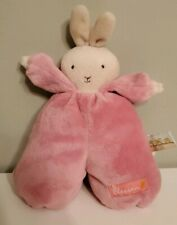 Bunnies by the Bay Hopscotch Plush Toy Blossom Bunny Lovey Crib Baby Stuffed