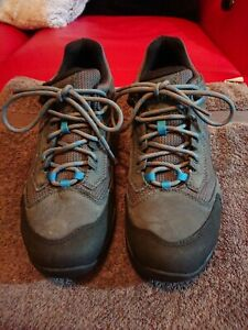 Merrell Turbulence Mens MSellectDry Blue Leather Trainers UK Size 10.5