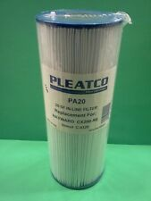 Pleatco Spa Filter Cartridge PA20 For Hayward Nemco CX200-RE  and Unicel C-4320