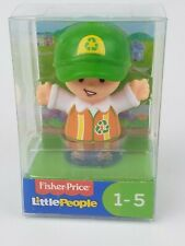 Fisher Price Little People Recycle Worker figure