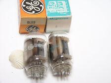 2 GE 6LR8 Vtg Ham Radio TV Amp Vacuum Tube OEM Replacement Part NOS NIB