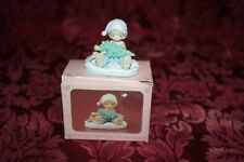 Precious Moments 1990 # 578126 Don't Let The Holidays Get You Down Figurine