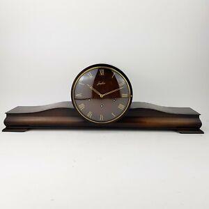 Art Deco Junghans Westminster Kaminuhr Regulator Pendule clock Wanduhr Bill