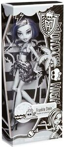 NIB Monster High Skull Shores Black and White FRANKIE STEIN Doll