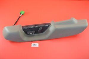 C#1 Volvo Driver Left Front Memory Power Seat Switch OAK TRIM S70 V70 9160086