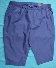 AUTOGRAPH NEW Blue Ocean Drill Crop Pants Size 26.NEW rrp $39.99 Stretch PULL-ON