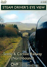 Steam Driver's Eye View - Settle & Carlisle Railway (Northbound)  *DVD