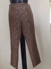 Dolce & Gabbana , pantalone vita alta , modello capri , maculato