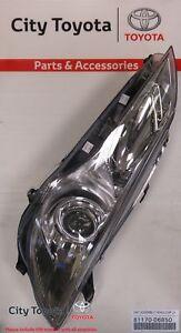 New Toyota Genuine LH Headlight Camry/Aurion 4/15-Current 8117006B50